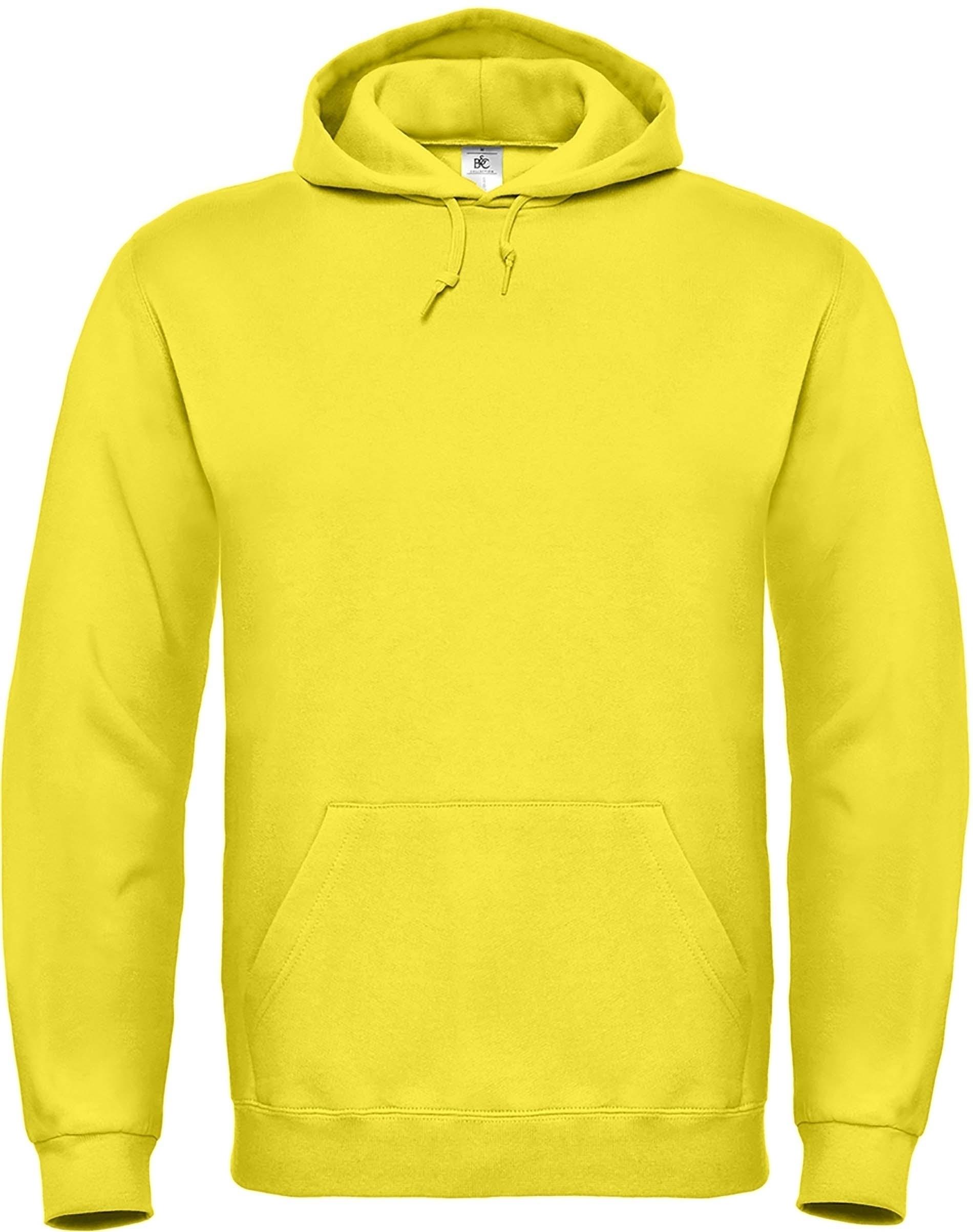 sweat à capuche yellow