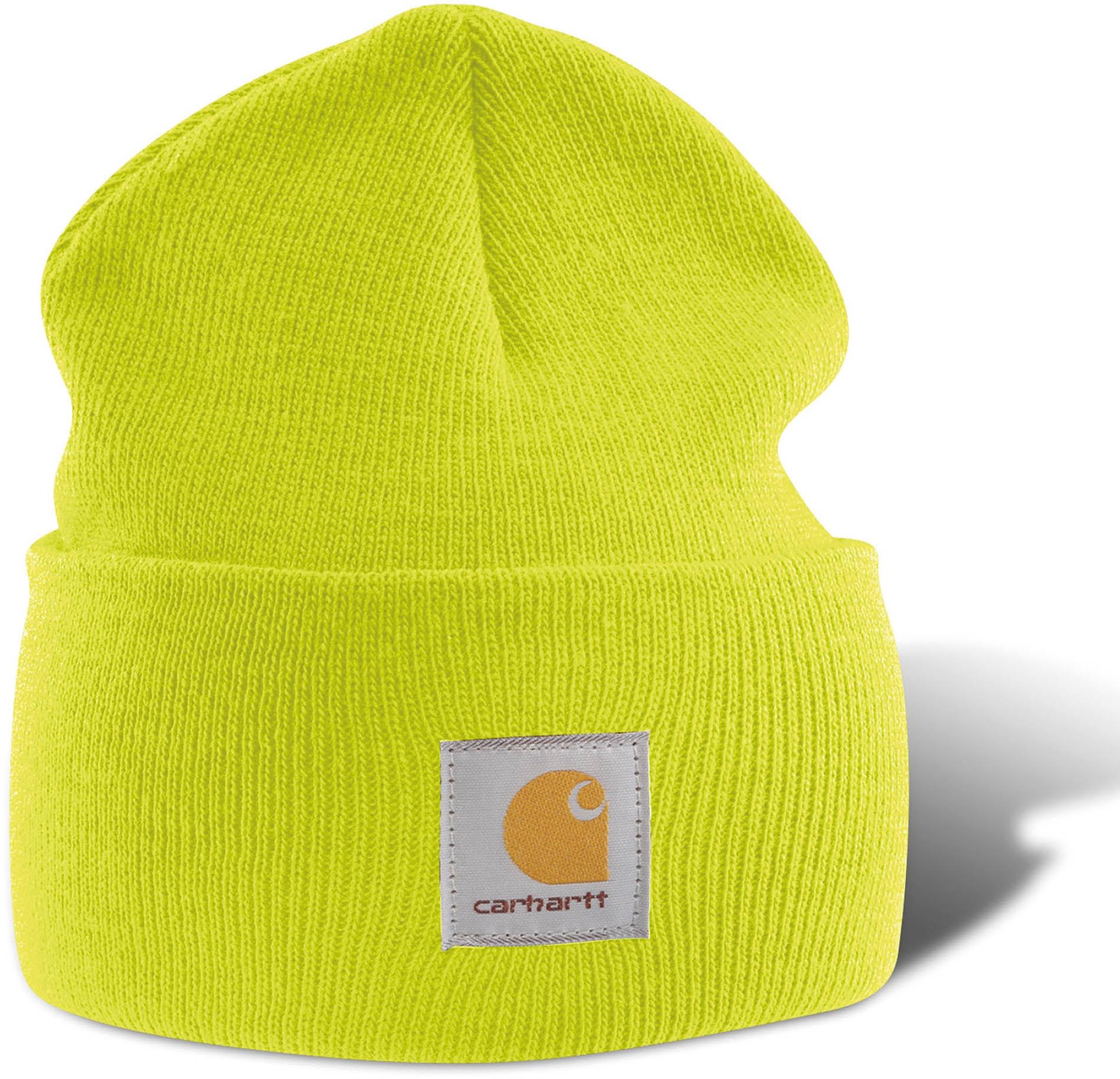 Bonnet Carhartt - Bright Lime imprimé et personnalisé pour ...