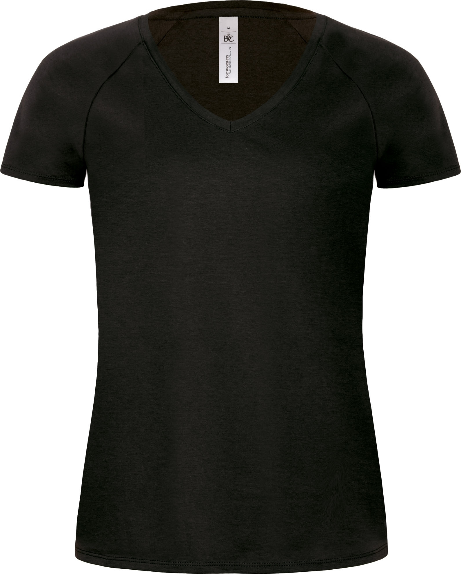 a5506e73c2de T-SHIRT FEMME COL V BLONDIE CLASSIC Black Noir ·  images stories virtuemart tt2016 PS CGTW260 BLACK