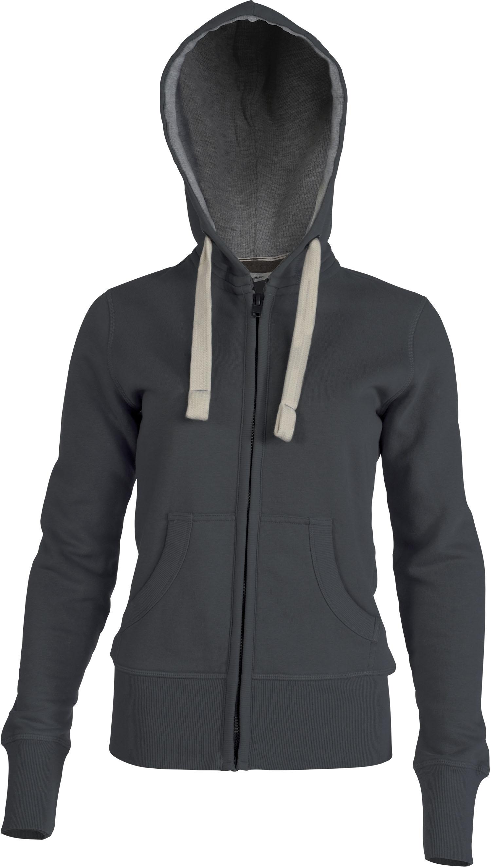 sweat shirt-femme-zippe
