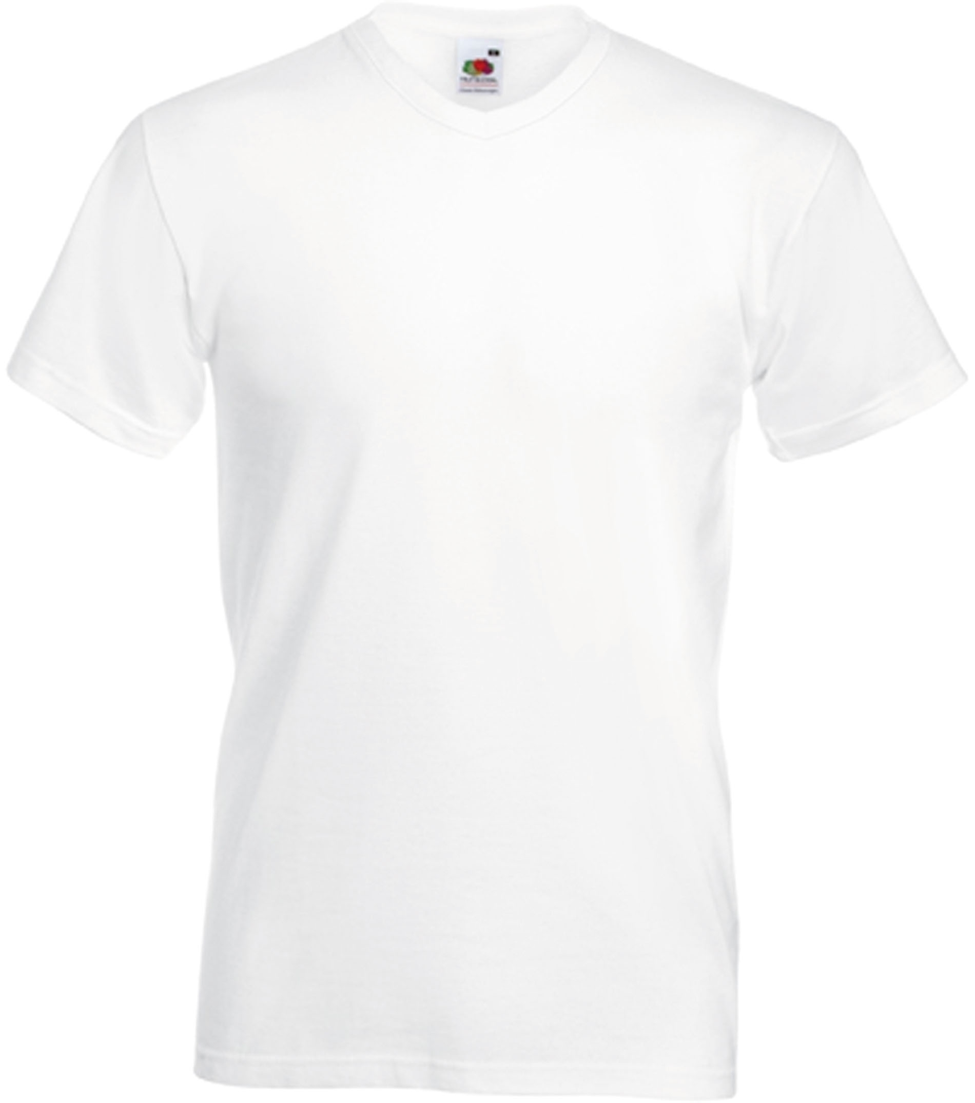 438697bffb514 T-SHIRT HOMME COL V VALUEWEIGHT (61-066-0) White Blanc ·  images stories virtuemart tt2016 PS SC22V WHITE