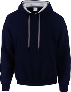 SWEAT-SHIRT CAPUCHE CONSTRASTÉE HEAVY BLEND™